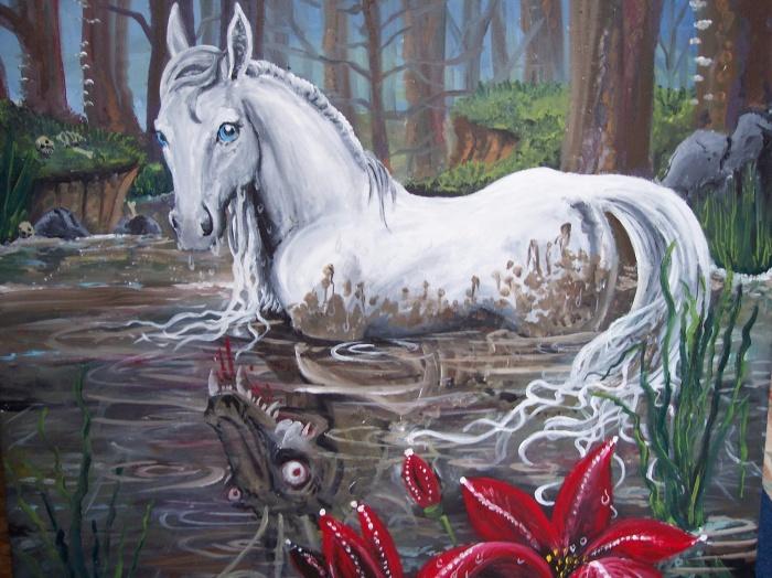 Mythical water horses - photo#27